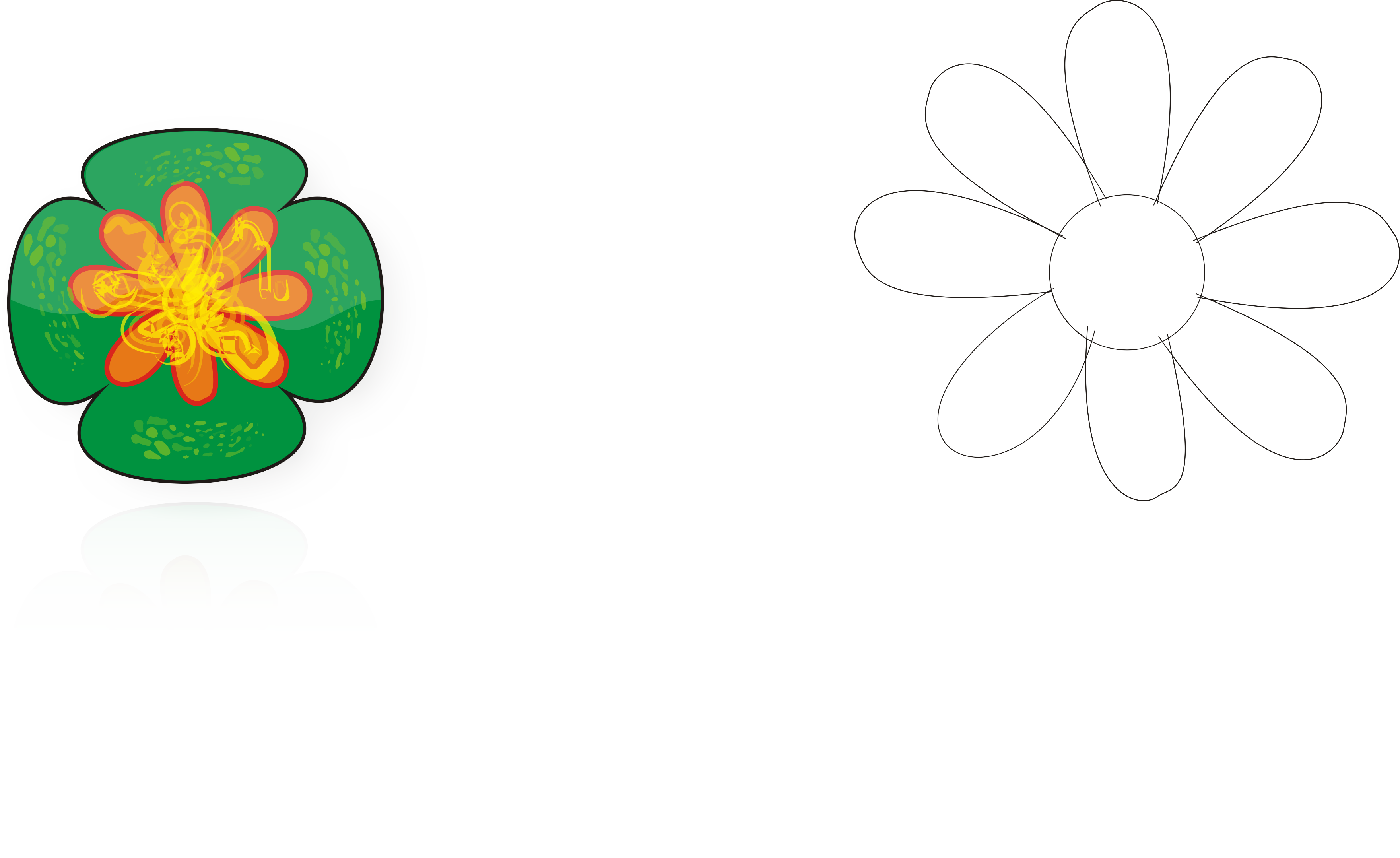 Flor En Corel Draw